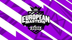 European Masters Spring 2020 | Groups | Day 2