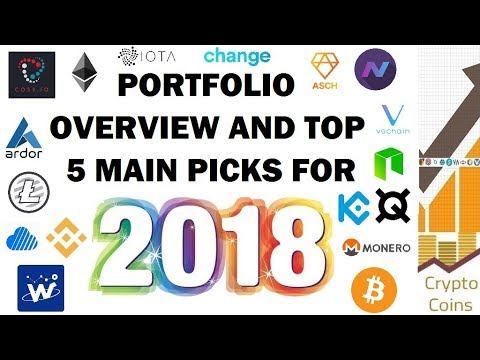 My Top 5 Biggest Holdings and Favourite Investments for 2018
