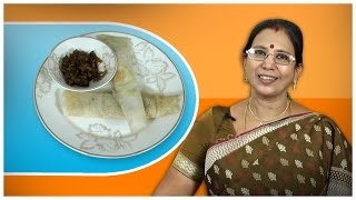 Mushroom Masala Dosa   Mallika Badrinath Indian Recipes   Cooking Videos