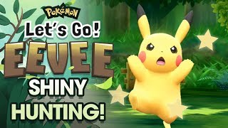 LIVE SHINY PIKACHU HUNTING! Pokemon Let's Go Pikachu & Let's Go Eevee Shiny Hunting w/ FeintAttacks!