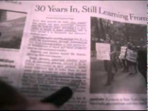 New York Times-30 years later still learning from aids