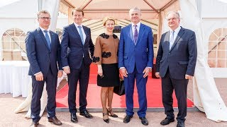 Открытие ПХГ Катарина в городе Пайсен Бернбург Федеральная земля Саксония Ангальт 23 мая 2017