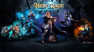 Браузерная игра Hero Rage Gameplay