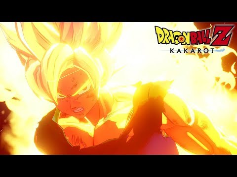 Goku turns Super Saiyan for the first time - Dragon Ball Z KAKAROT @ 1080p (60ᶠᵖˢ) ✔