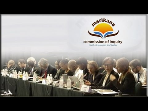 Marikana Commission of Inquiry, 17 July 2014: Session 1