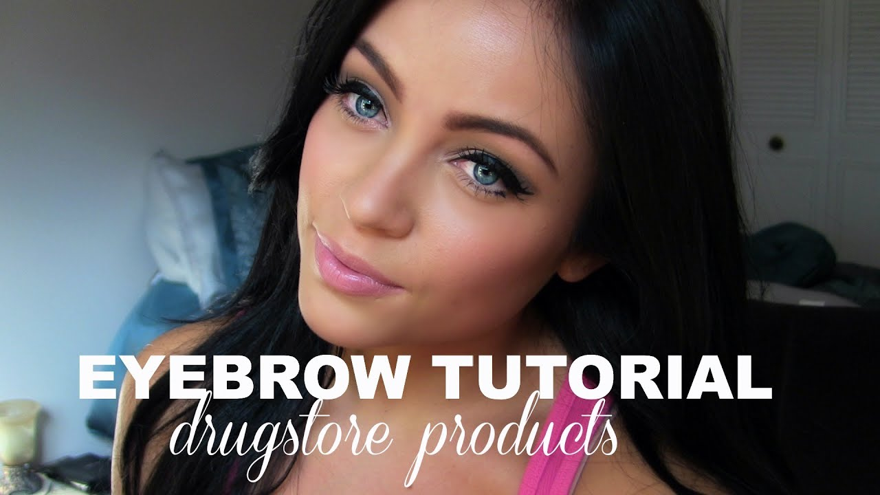 How I Fill In My Eyebrows Youtube
