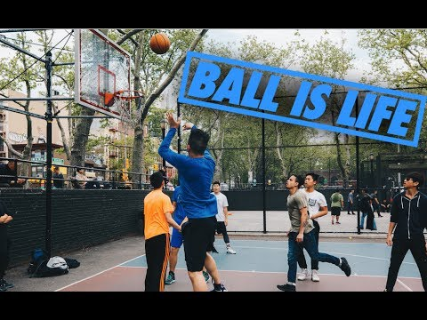 EPIC PICK-UP GAME IN NEW YORK CITY! DAVID RAINS 3s
