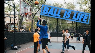 EPIC PICK-UP GAME IN NEW YORK CITY! DAVID RAINS 3s | Fung Bros
