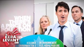 Andrew Lawton: Environmentalists hand excuse for higher carbon taxes to Trudeau | Ezra Levant