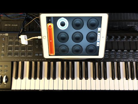 Loopy HD - Mitosynth - AudioBus - Let's Compose Ambient Soundscapes - IPad Live