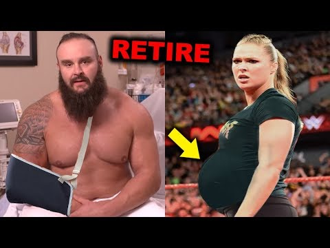 10 WWE Wrestlers Who Will Be Forced to Retire in 2019 - Braun Strowman & Ronda Rousey Retiring?