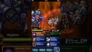 [FFBE Global] Aigaion ELT All Mission + 5 Man