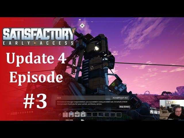 The Hub Is Complete! Satisfactory Update 4 #3
