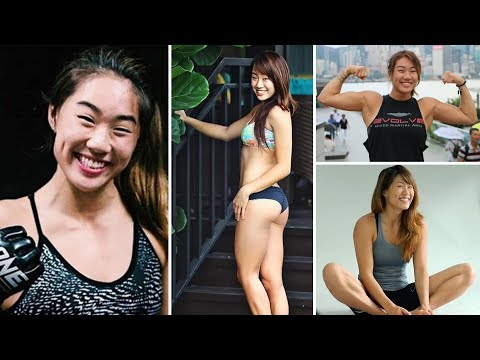 Current One Championship's Women's Atomweight World Champion Angela Lee in 2017