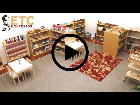 The ETC And Nienhuis Montessori Early Childhood Classroom Tour
