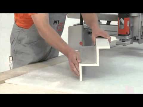 PFT Boardmaster XL: The Revolution in drywall construction