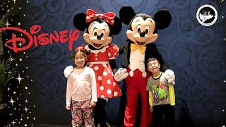 Mickey Mouse and Minnie Mouse in Real Life at Disney Beach Club Resort with fun kids activities!!!