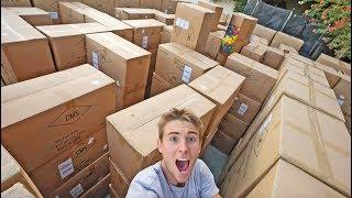 HOMEMADE BOX MAZE! (DIY)