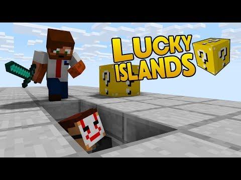 UFO ÄR SMART!   Lucky Islands på Cubecraft