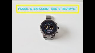 Fossil Gen 3 Q Explorist Basic Review!
