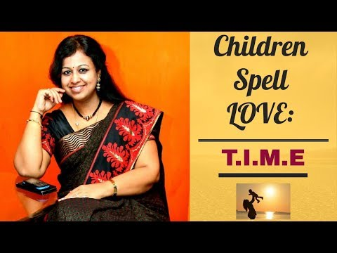 Children Spell Love with a T, an I, an M and an E