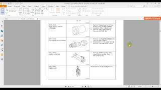 Huyndai Coupe Workshop Manual Driveshaft and Axle