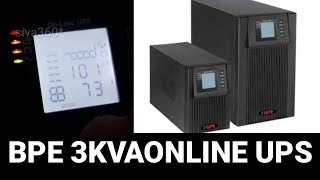 3KVA Online UPS , REVIEW & UNBOX,BPE inverter and UPS, 2KVA,3KVA, SIVA360