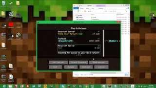 Minecraft How to: Make a Server without Portforwarding or Hamachi + 1.10!