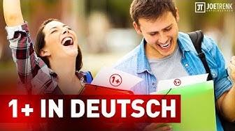 Wie du eine 1+ im Fach Deutsch erzielst