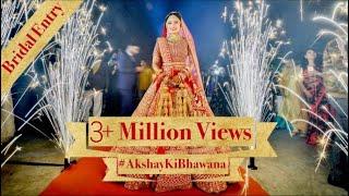 BEST BRIDAL ENTRY EVER | BRIDE GOALS | DIN SHAGNA DA | AKSHAY KI BHAWANA| VISH N WED