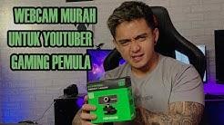 WEBCAM MURAH HASIL EDAN UNTUK LIVE STREAMING DAN YOUTUBER GAMING !!