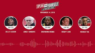 SPEAK FOR YOURSELF Audio Podcast (11.14.18)with Marcellus Wiley, Jason Whitlock | SPEAK FOR YOURSELF