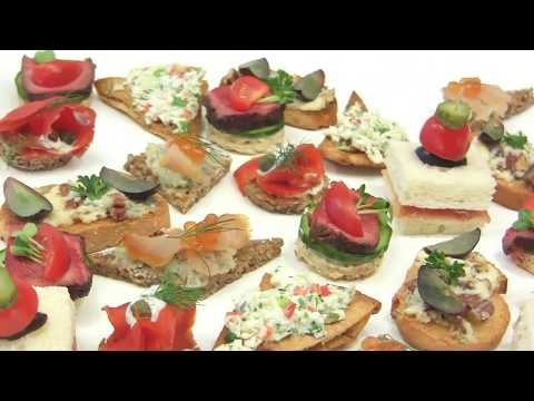 Learn about Canapés -  Hors d'œuvre