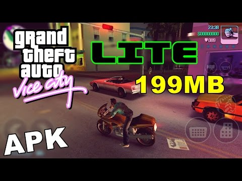 GTA Vice City Lite 199MB Apk+Data Pouca memoria (Download + Tutorial)