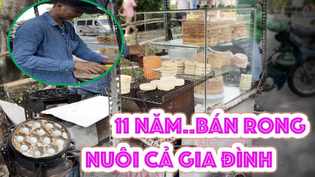 Xe bánh bò sữa bánh dừa 11 năm đơn giản bình dị họ hàng bán khắp Sài Gòn