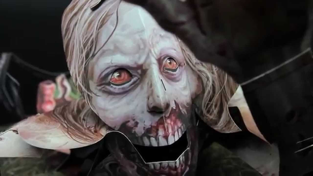 The Walking Dead: The Pop-Up Book | Insight Editions