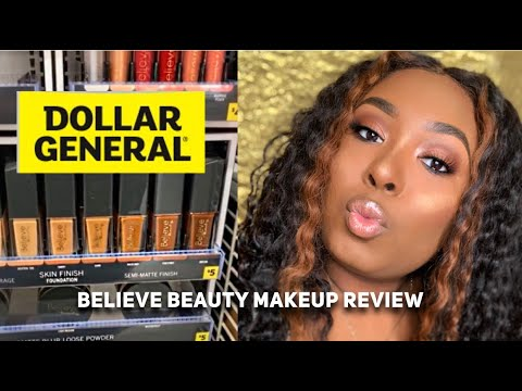 Dollar General Believe Beauty Makeup Review