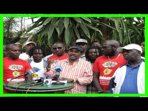 Breaking News   Let's square it out on the streets, nairobi business community tells nasa