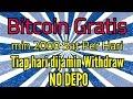 Bitcoin Gratis 2000 Sat Tiap Hari, Tanpa DEPO, Garansi WD