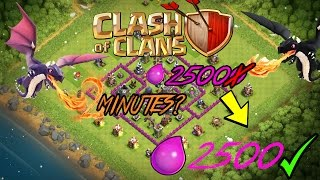 Get Those Dragons In 2 Minutes! | Clash Of Clans | Rehtronicle
