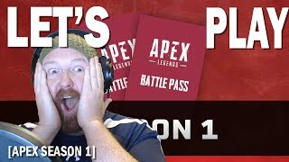 APEX LEGENDS SEASON 1 BATTLE PASS | Let's Play | PUGs | Xbox One X Gameplay