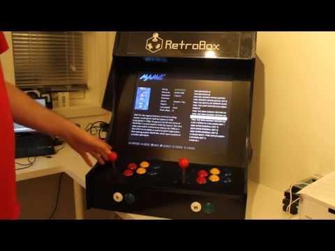 RetroBox – Second RetroPie Arcade Build