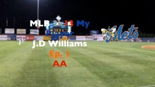 Video MLB 2k13 My Player Ep. 1 - The Creation of J.D Williams download MP3, 3GP, MP4, WEBM, AVI, FLV Oktober 2017