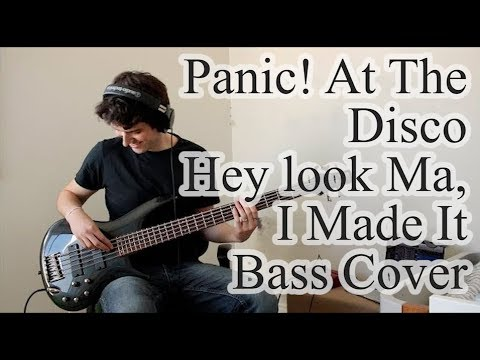Panic! At The Disco - Hey Look Ma, I Made It (Bass Cover with Tab)
