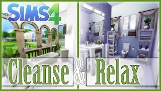 The Sims 4: Room Build - Cleanse and Relax