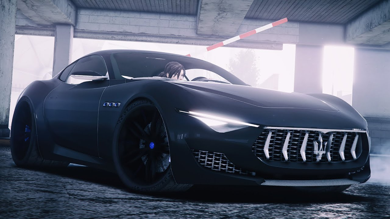 GTA 5 МОДЫ - 2014 Maserati Alfieri Concept - YouTube