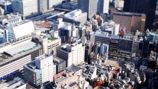 миниатюрный город(съемка титл шифт эффект)