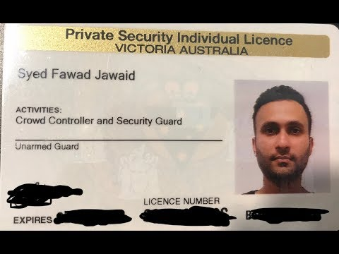 Easy Money With Security License Australia