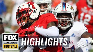 Texas Tech vs. Kansas | FOX COLLEGE FOOTBALL HIGHLIGHTS