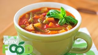 Watch recipe: Indian Style Minestrone Soup